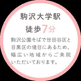駒沢大学駅徒歩7分