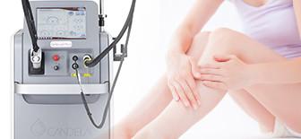 治療効果をより高める医療用レーザー機器とホームケア化粧品