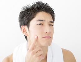 尋常性ざ瘡(じんじょうせいざそう):ニキビ